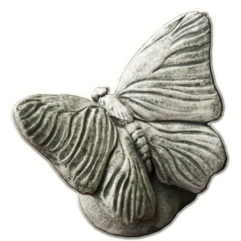 Butterfly Cast Stone Garden Statue - Outdoor Art Pros