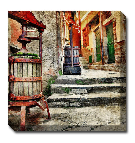 Casalingo Vino Canvas Wall Art - Outdoor Art Pros