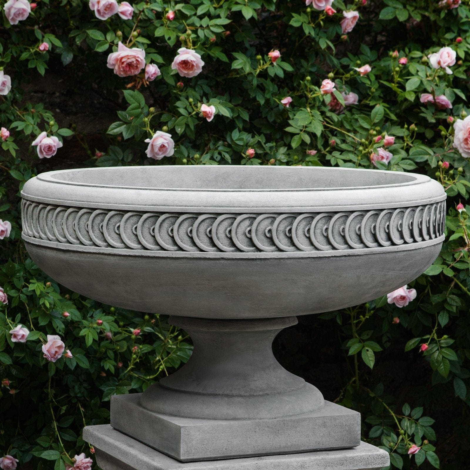 Captivating Chatham Urn Garden Planter  Planters   Outdoor Art Pros ...
