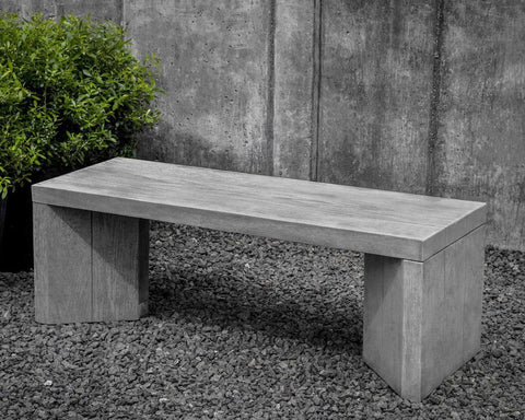 Chênes Brut Garden Bench - Outdoor Art Pros