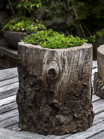 Stone Chestnut Garden Planter- Planters - Outdoor Art Pros