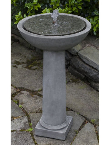 Cirrus Birdbath Water Fountain