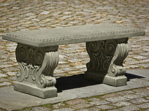 Classic Garden Bench - Outdoor Art Pros