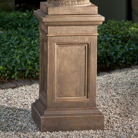 Coachhouse Pedestal - Outdoor Art Pros (Planter NOT Included)