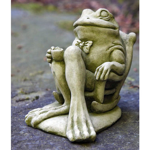 Coffee Cast Stone Garden Statue - Outdoor Art Pros