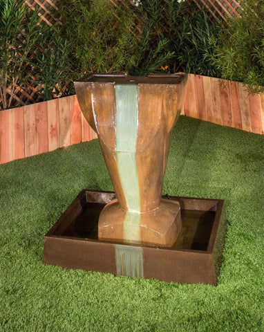Colonial Garden Water Fountain - Fountains - Outdoor Art Pros