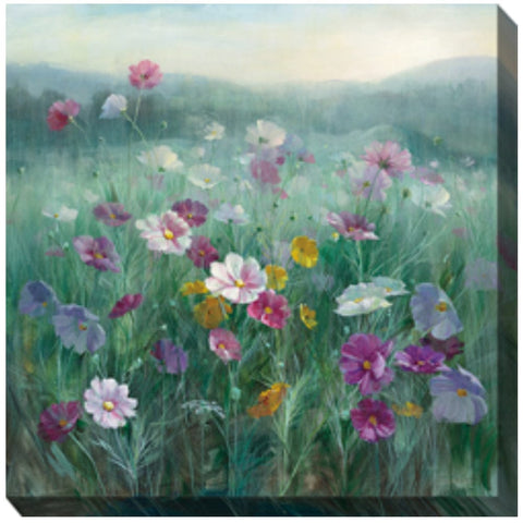 Cosmos at Dawn Outdoor Canvas Art - Outdoor Art Pros