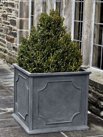 Cumberland XLarge Square Lead Lite Planter - Outdoor Art Pros