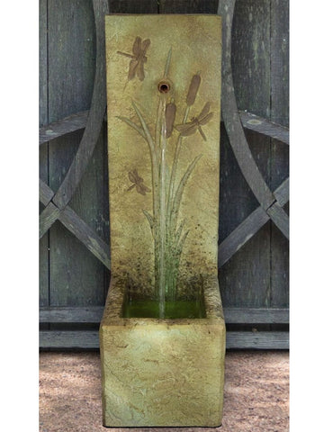 Dragonfly Single Spout Fountain - Outdoor Art Pros