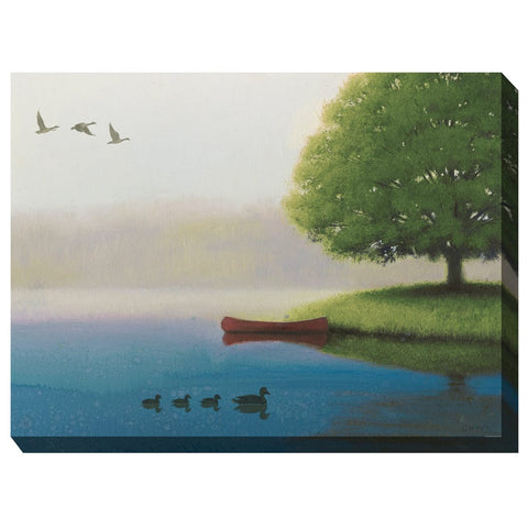 Early Morn Outdoor Canvas Art - Outdoor Art Pros