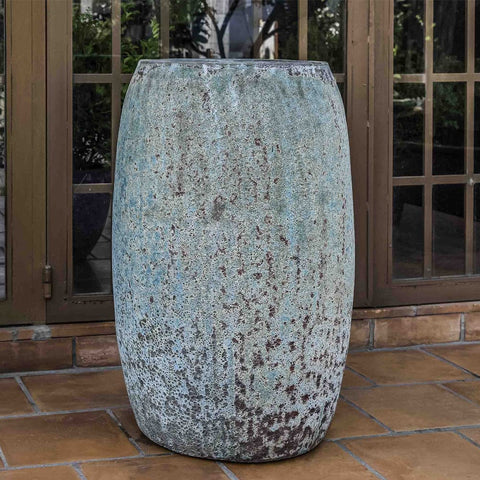 Eden Planter in Verdigris Finish - Outdoor Art Pros