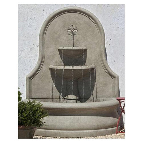 Estancia Wall Water Fountain - Outdoor Art Pros