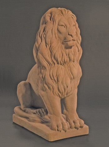 Estate Lion Outdoor Statue - Medium - Statuary -Outdoor Art Pros