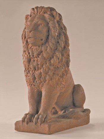 Estate Lion Outdoor Statue - Small - Statuary - Outdoor Art Pros