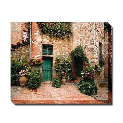 Estate Toscana Outdoor Canvas Art - Outdoor Art Pros