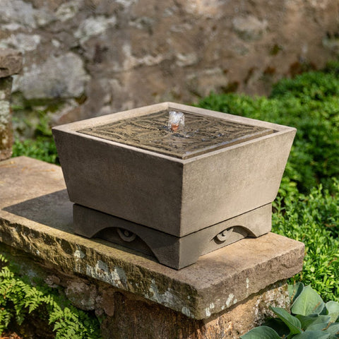COLETTE: Asian outdoor fountains