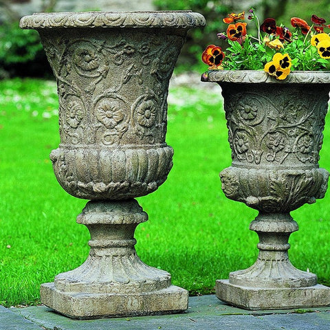 Farnese Urn Garden Planter - Outdoor Art Pros