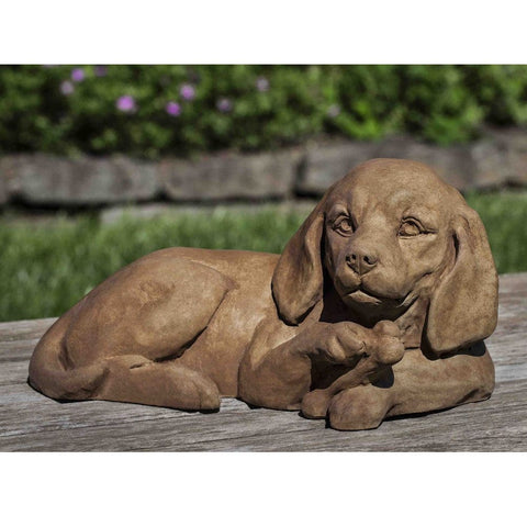 Finders Keepers Cast Stone Garden Statue - Outdoor Art Pros