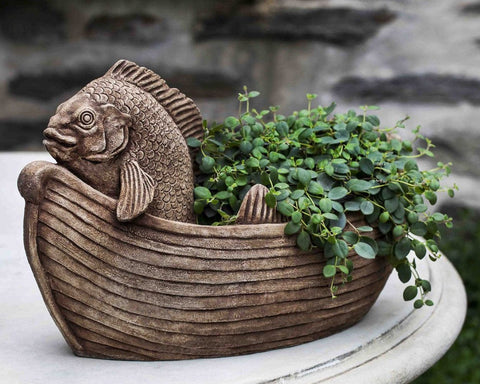 Fish Out of Water Garden Planter - Outdoor Art Pros