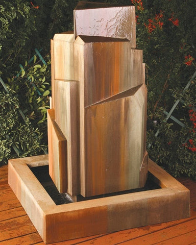 Flourish Garden Water Fountain   Fountains   Outdoor Art Pros