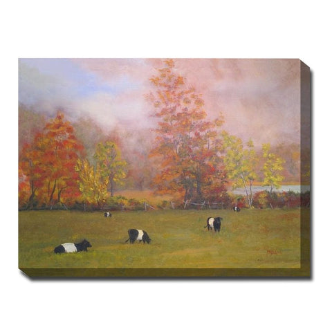 Foggy Day Outdoor Canvas Art
