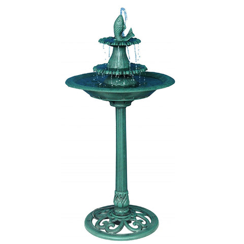 Alpine Fountain With Fish - Outdoor Art Pros