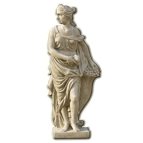 Four Seasons - Fall Cast Stone Garden Statue - Outdoor Art Pros
