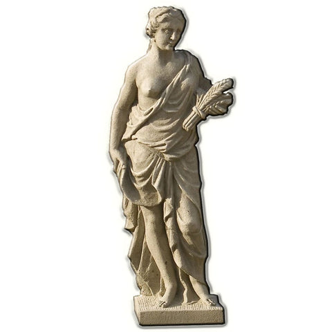 Four Seasons - Summer Cast Stone Garden Statue - Outdoor Art Pros