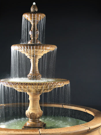 3 Tier Four Seasons Fountain For Pond