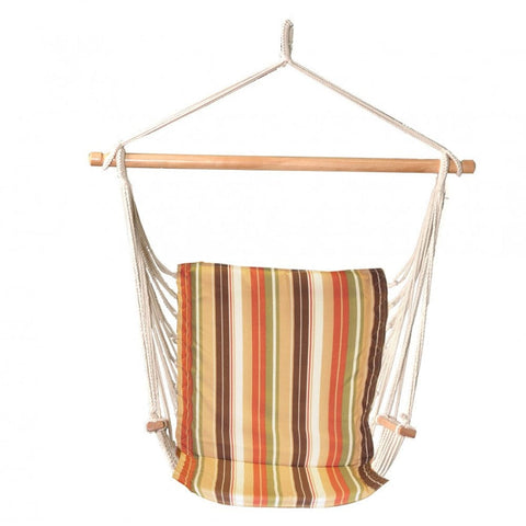 Bliss Reversible Metro Hammock Chair (Garden Stripe) - Outdoor Art Pros