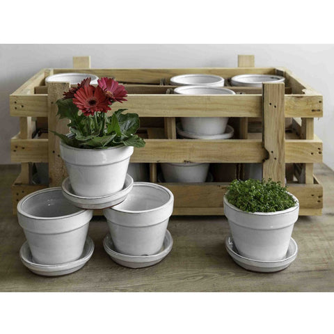 Garden Terrace Small Round Crate Set of 16 - Outdoor Art Pros