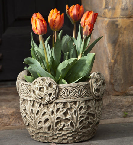 Garth Garden Planter - Outdoor Art Pros