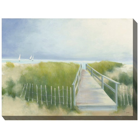 Gentle Breeze Outdoor Canvas Art - Outdoor Art Pros