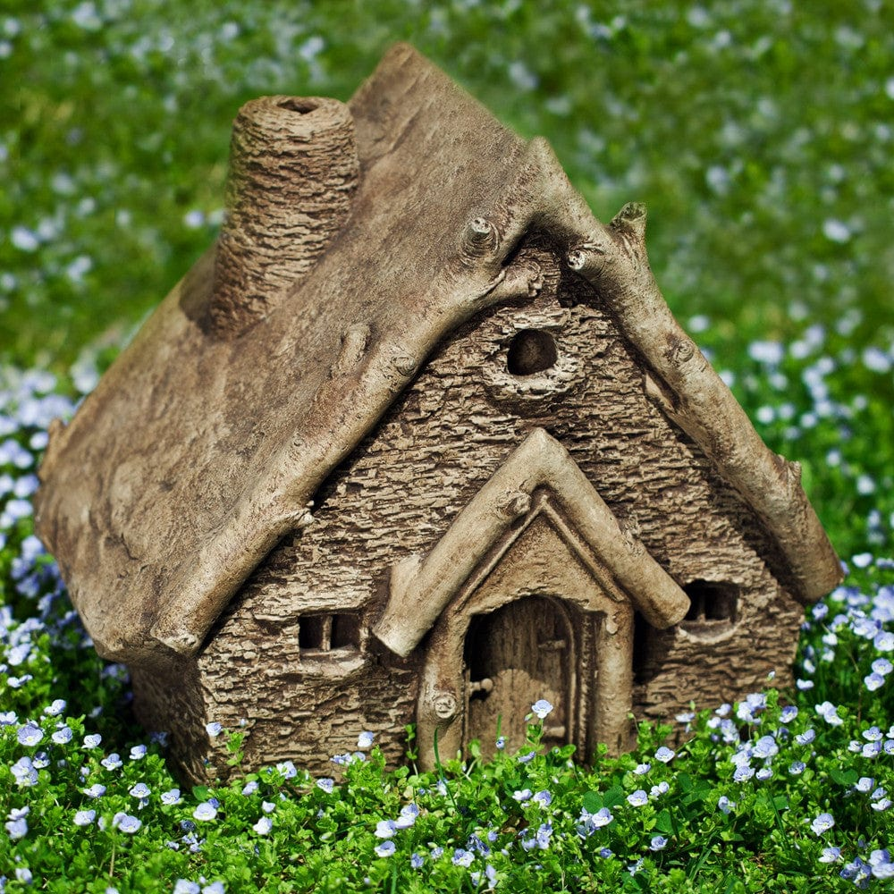 Gnome Cottage Cast Stone Garden Statue
