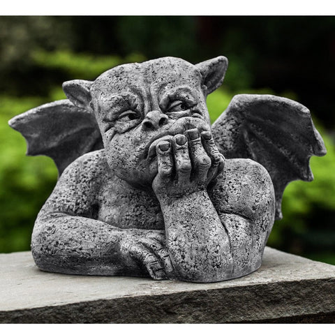 Grumblethrope Cast Stone Garden Statue - Outdoor Art Pros