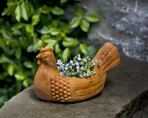 Hen Garden Planter - Outdoor Art Pros