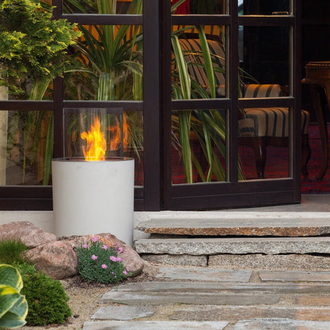 Jar Commerce Ethanol Fireplace - Outdoor Art Pros