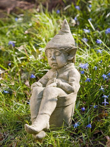 Joe Cast Stone Garden Statue - Outdoor Art Pros