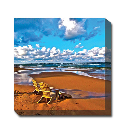 Just the Two of Us Canvas Wall Art