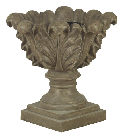Kenroy Scroll Leaf Garden Planter