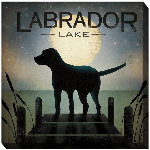 Labrador Lake Outdoor Canvas Art - Outdoor Art Pros