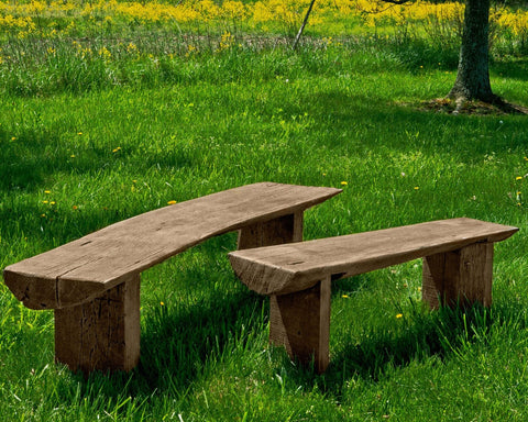 Large Bois Garden Bench - Outdoor Art Pros