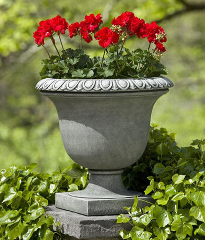 Litchfield Egg & Dart Urn Garden Planter - Outdoor Art Pros