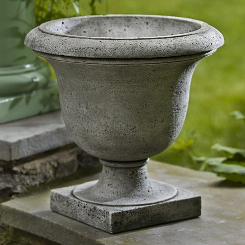 Litchfield Rustic Urn Garden Planter - Outdoor Art Pros