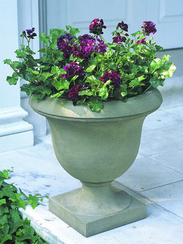 Litchfield Urn Garden Planter - Outdoor Art Pros