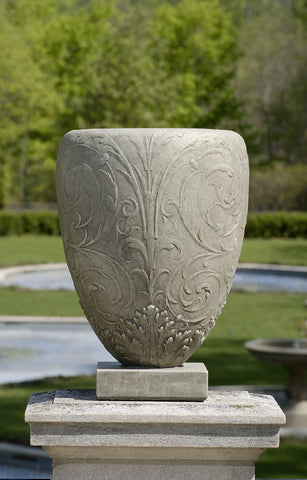 Longwood Arabesque Urn Garden Planter - Outdoor Art Pros