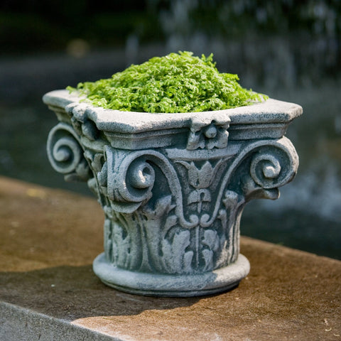 Longwood Capital Garden Planter - Outdoor Art Pros