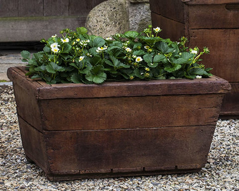 Low Vendange Garden Planter - Outdoor Art Pros
