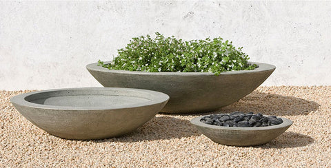 Low Zen Planter Bowl