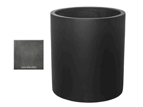 ML 2224 Round Planter Container in Concrete Lite® -Outdoor Art Pros